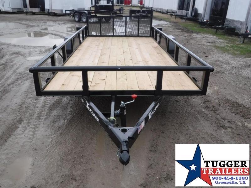 2019 TexLine 77x14 14 Stealth Utility Trailer