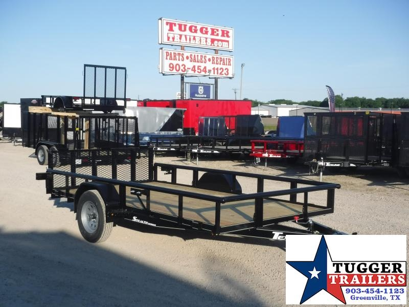2020 TexLine 77x12 12ft Flatbed Steel Heavy Duty Move Hunt Toy Utility Trailer