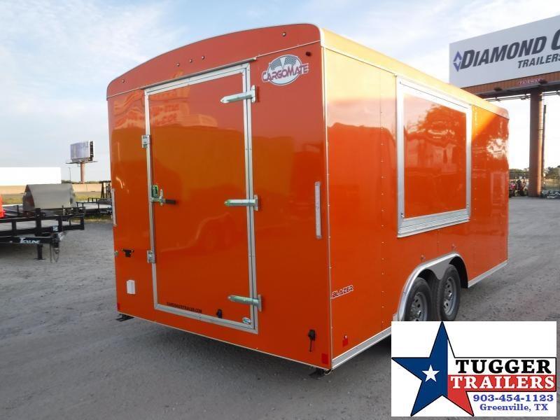 2012 Cargo Mate 8.5x16 16ft Food Street Taco BBQ Vending / Concession Trailer