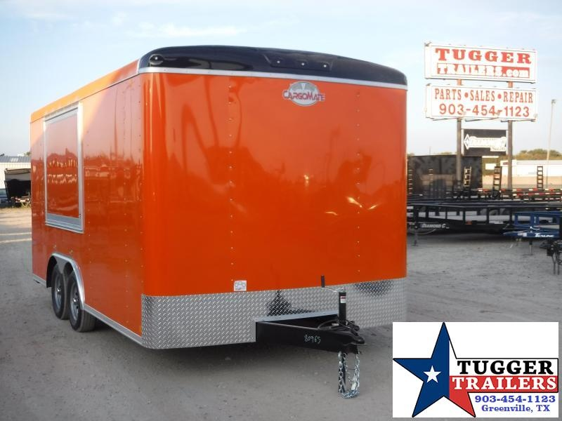 2012 Cargo Mate 8.5x16 16ft Food Street Taco BBQ Vending / Concession Trailer