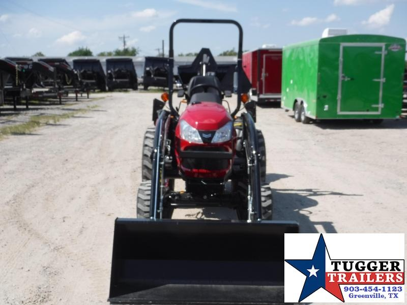 """2019 Yanmar SA 424 DIESEL Tractor With Backhoe and 12"""" Bucket"""
