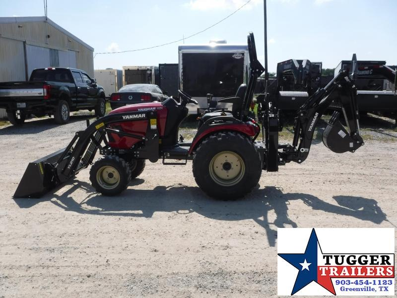 """2020 Yanmar SA 424 DIESEL Tractor With Backhoe and 12"""" Bucket"""