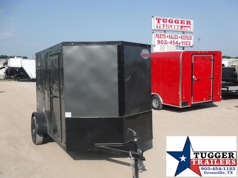 2020 Cargo Mate 6x10 10ft E-V Blackout Ramp Enclosed Cargo Trailer