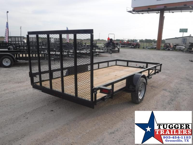 2019 TexLine 77x14 14ft Flatbed Utility Trailer