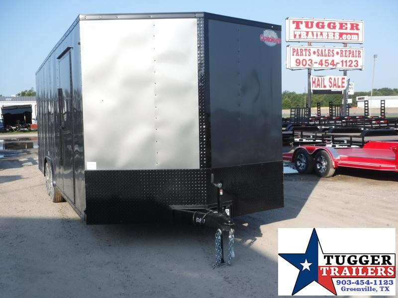 2020 Cargo Mate 8.5x24 24ft E-Series Blackout Enclosed Cargo Trailer