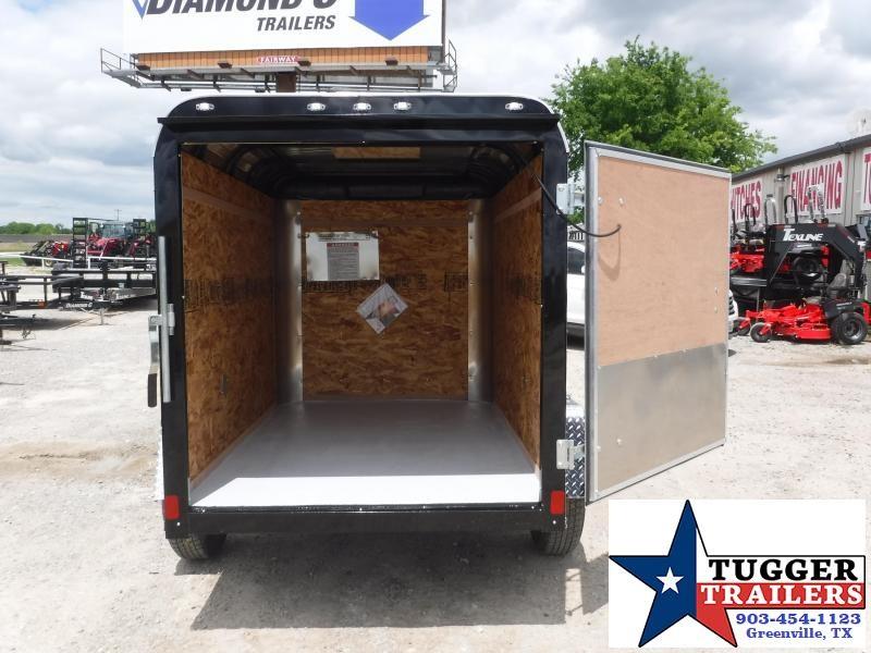 2019 Cargo Craft 5x8 8ft Explorer Swing Door Enclosed Cargo Trailer