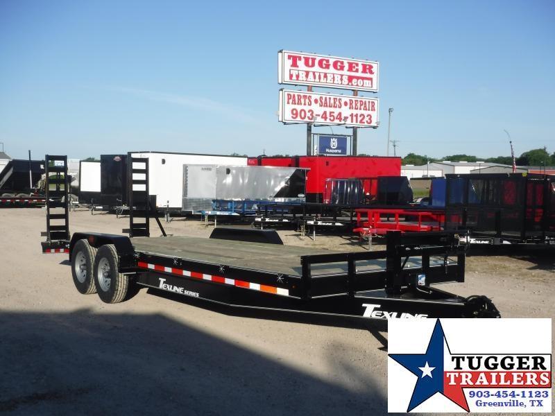 2020 TexLine 83x24 24ft Farm Work Equipment ConstructionBobcat Utility Equipment Flatbed Trailer
