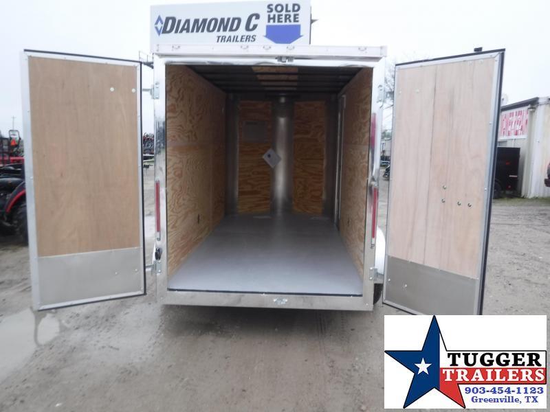 2020 Cargo Craft 6x12 12ft Elite Plus 2' V-Nose Utility Move Sport Enclosed Cargo Trailer