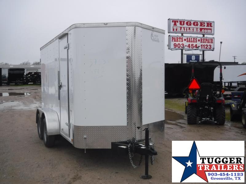 2020 Cargo Craft 6x12 12ft Elite Plus 2' V-Nose Utility Move Sport Enclosed Cargo Trailer