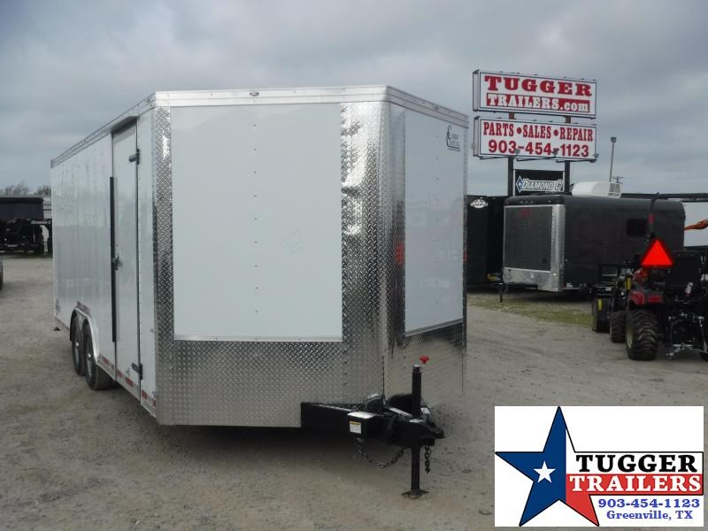 2020 Cargo Craft 8.5x20 20ft Enclosed Cargo Plus 3' V-Nose Classic Car / Racing Trailer
