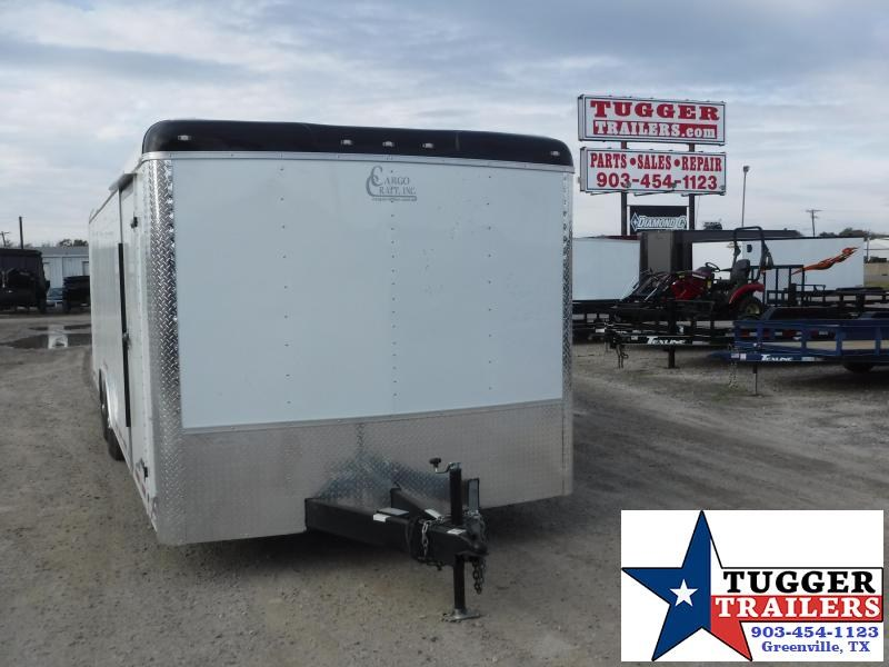 "2020 Cargo Craft 8.5'X20"" Auto Enclosed Cargo Trailer"