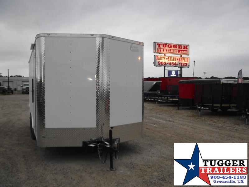 2020 Cargo Craft 8.5x16 16ft Toy Work Landscape Business Office Enclosed Cargo Trailer