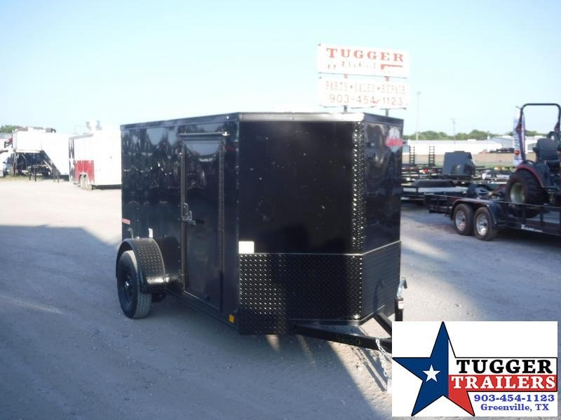 2020 Cargo Mate 5x10 10ft E-V Blackout Enclosed Cargo Trailer