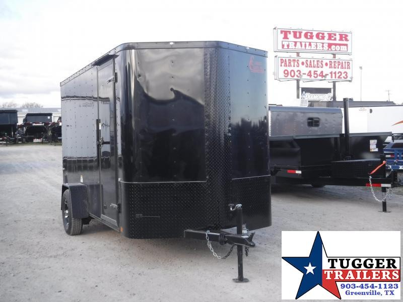 2020 Cargo Craft 6x12 12ft Plus 2' V-Nose Utility Sport Enclosed Cargo Trailer