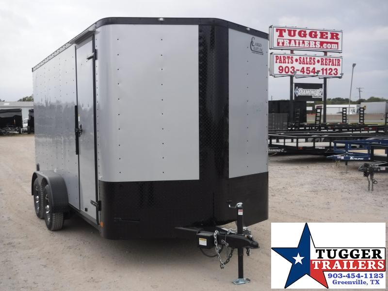 2020 Cargo Craft 7x14 14ft Diamond Ice Blackout Ramp Utility Enclosed Cargo Trailer