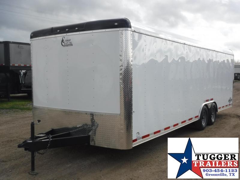 2020 Cargo Craft 8.5x24 24ft Auto Mobile Classic Enclosed Cargo Car / Racing Trailer