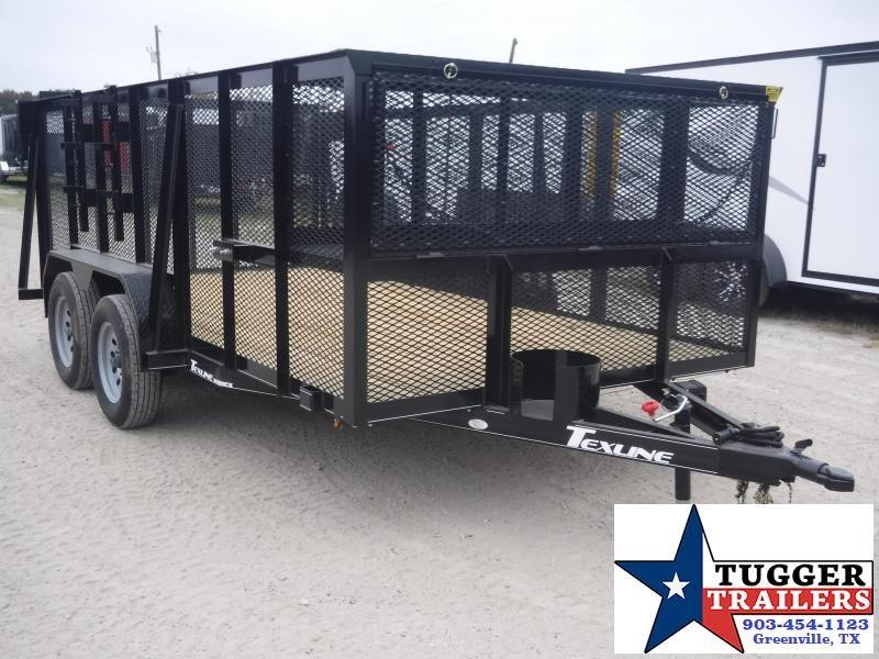 2019 TexLine 83x14 14ft Landscape Mower Utility Trailer