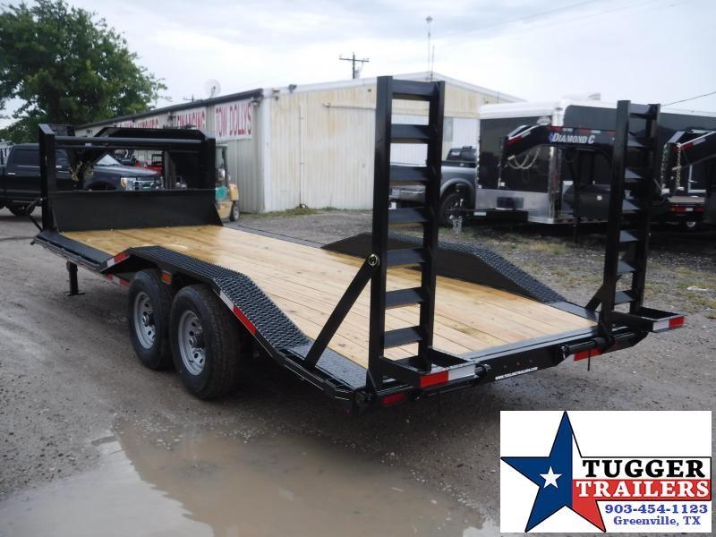2019 TexLine 83x20 20ft Open Gooseneck Equipment Utility Flatbed Trailer