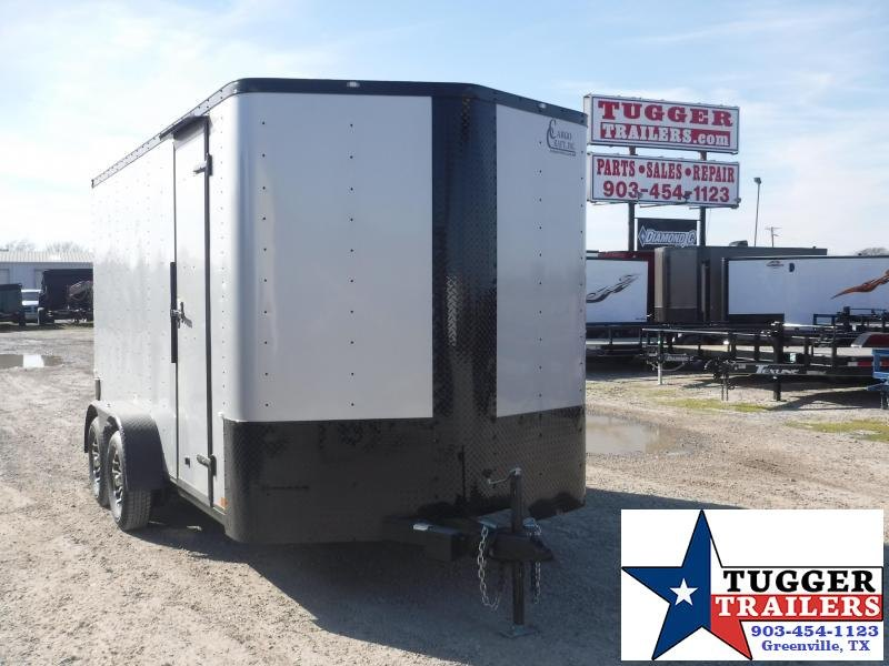 2020 Cargo Craft 7x14 14ft Black Out Utility Enclosed Cargo Trailer
