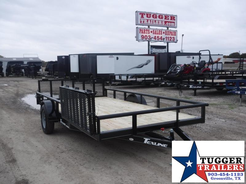 2020 TexLine Single Axle Utility Trailer