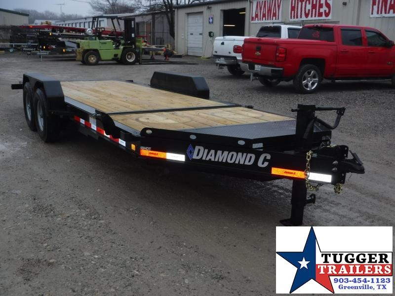 2019 Diamond C Trailers 82x20 20ft Tilt HDT Flatbed Open Car Hauler Trailer