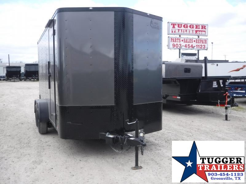 2020 Cargo Craft 7x14 14ft Utility Black Out Ramp Work Enclosed Cargo Trailer