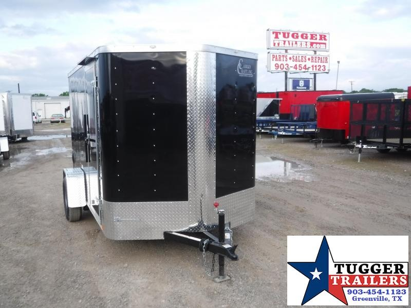 2020 Cargo Craft 6x10 10ft Elite Plus 2' V-Nose Utility Sport Box Enclosed Cargo Trailer