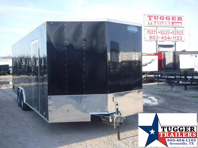"2020 Cargo Express 8.5x24 24ft Auto 18"" V-Nose Utility Enclosed Cargo Trailer"