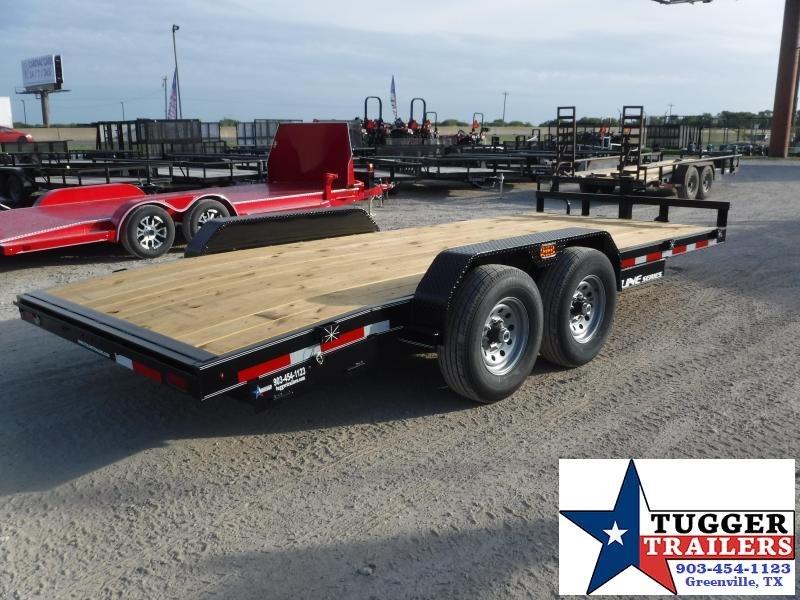 2019 TexLine 83x18 18ft Bobcat Utility Flatbed Trailer