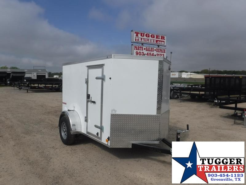 2020 HAIL SALE! Cargo Mate 5x8 8ft Double Door Single Axle Enclosed Cargo Trailer