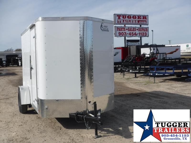 2020 Cargo Craft 6X10 Enclosed Cargo Trailer