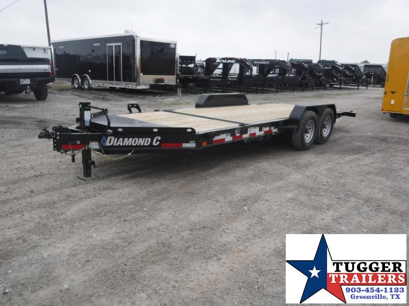 2019 Diamond C Trailers 82x20 20ft HDT Tilt Flatbed Open Car Hauler Trailer