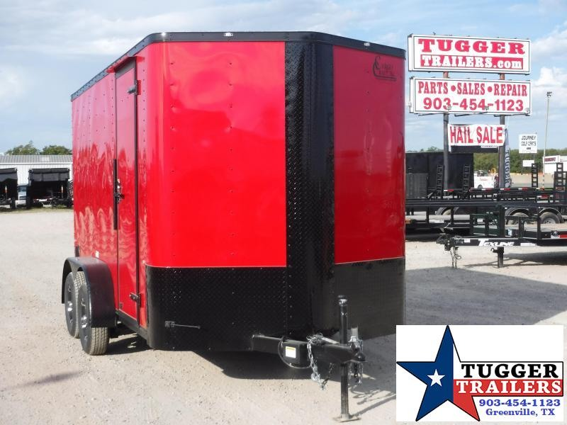 2020 Cargo Craft 7x12 12ft Blackout Ramp Enclosed Cargo Trailer