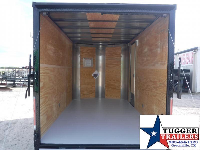 2020 Cargo Craft 7x12 12ft Blackout Ramp Enclosed Cargo Trailer