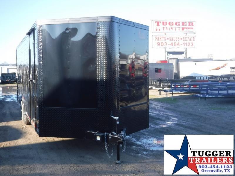 2020 Cargo Craft 8.5x24 24ft Blackout Ramp Auto Enclosed Cargo Car / Racing Trailer