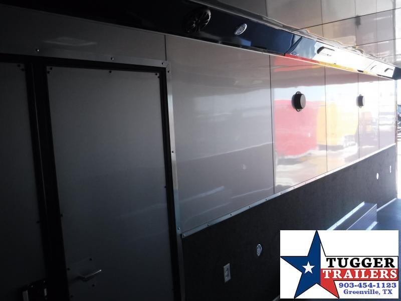 2019 Haulmark 8.5x28 28ft Blackout Edge Ramp Enclosed Cargo Trailer