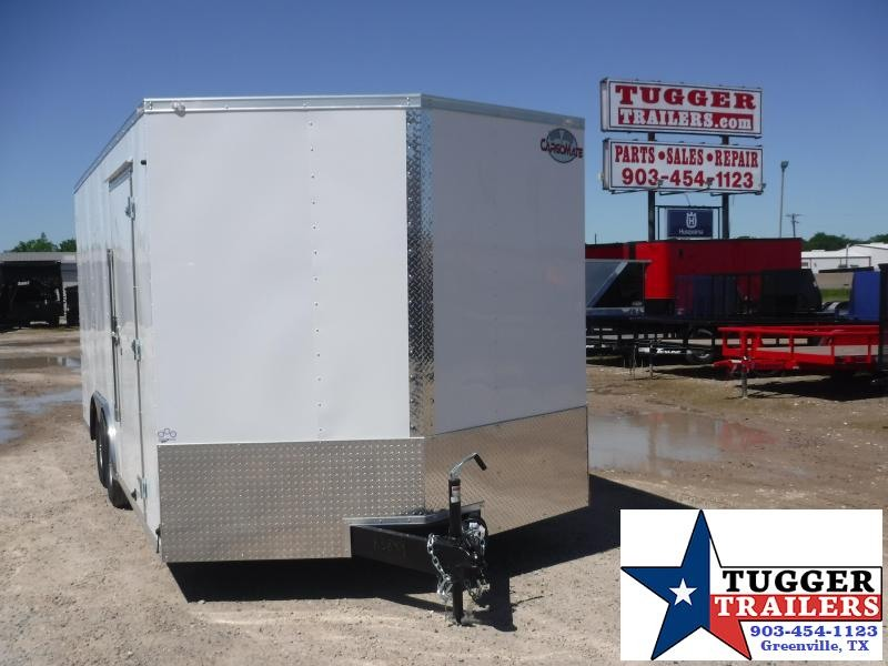 2021 Cargo Mate 8.5x18 18ft E-Series Move Lawn Toy Side Bike Work Enclosed Cargo Trailer