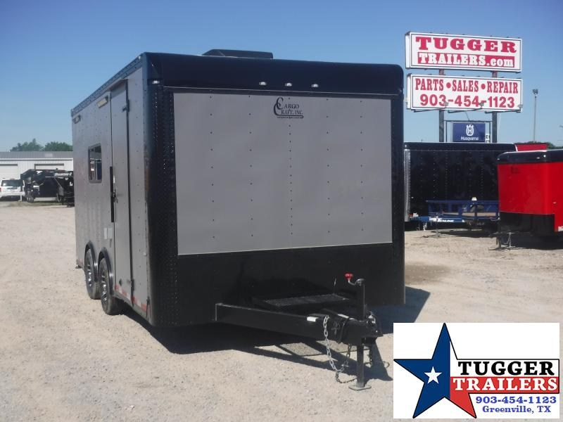 2020 Cargo Craft 8.5x16 16ft Torsion Black Out Matte Cargo Enclose Car / Racing Trailer