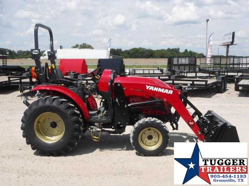 2019 Yanmar 4x4 YT 235 Tractor and Loader!