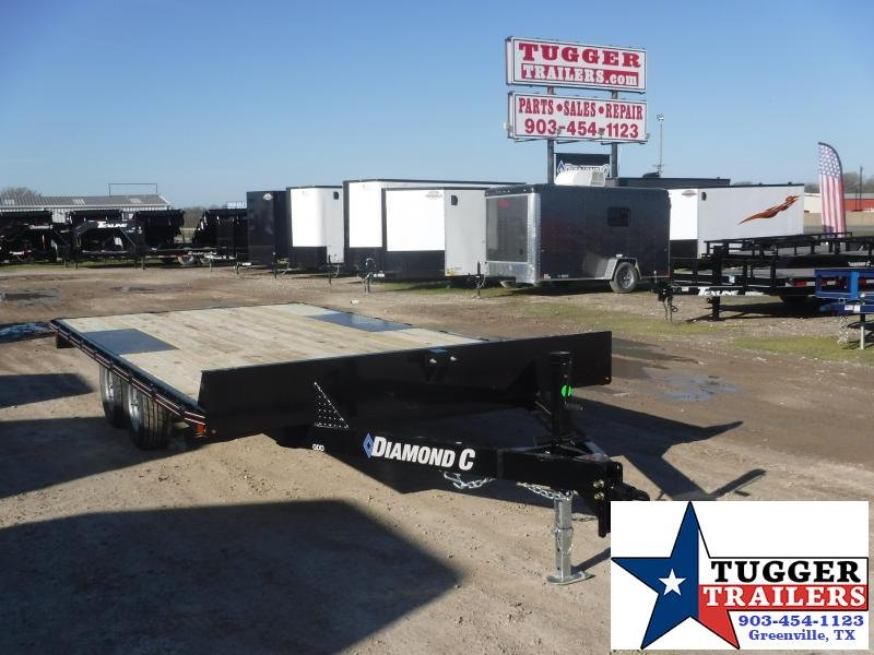 2020 Diamond C Trailers 102x16' 16' Deck Over Flatbed Steel Utility Trailer