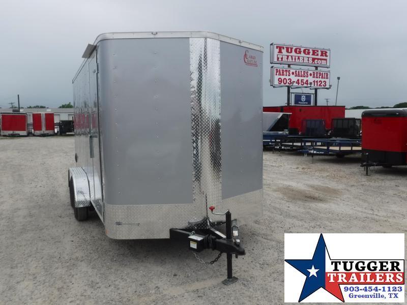 2020 Cargo Craft 7x14 14ft Utility Box Toy ATV UTV Side Four Play Enclosed Cargo Trailer