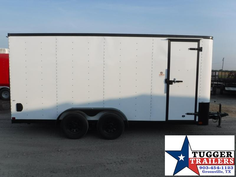 2019 Cargo Craft 7x16 16ft Blackout Enclosed Cargo Trailer