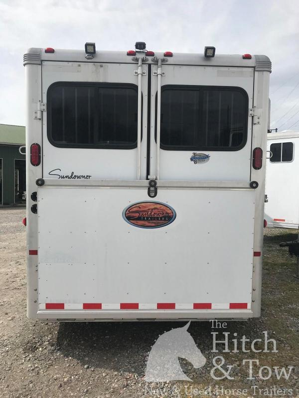 2011 Sundowner Trailers SunLite 727 Horse Trailer