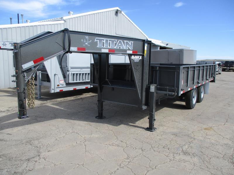 2020 Titan Trailers Dump Dump Trailer
