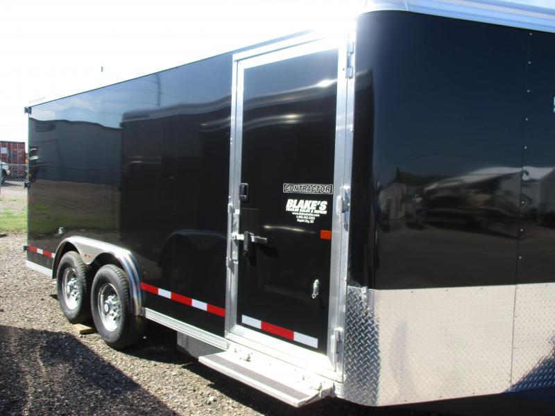 2019 Logan Coach Contractor Enclosed Cargo Trailer