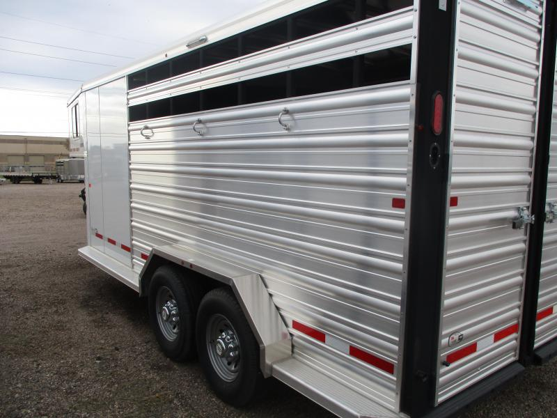 2019 Logan Coach Stock Combo Livestock Trailer 7 X 16