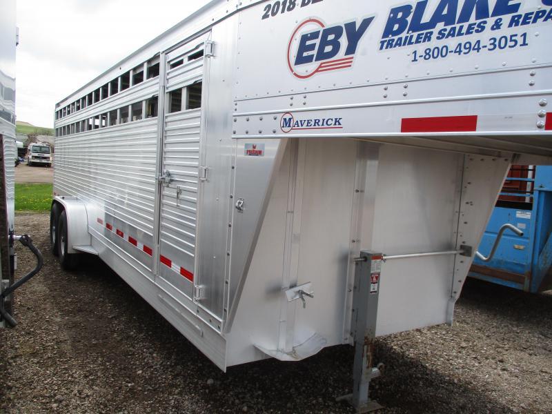 2018 EBY Maverick Livestock Trailer 7 X 24