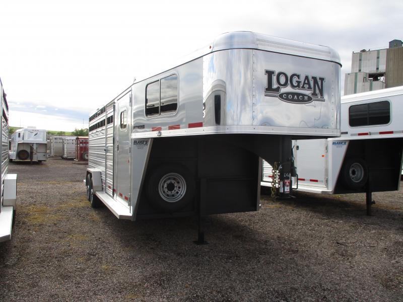 2020 Logan Coach Combo Livestock Trailer