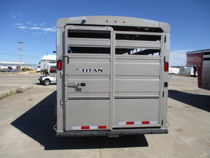 2020 Titan Trailers Classic Livestock Trailer