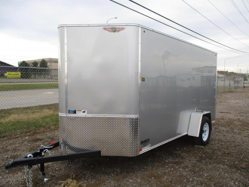 2020 H and H Trailer Cargo Enclosed Cargo Trailer 6 X 12